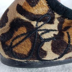 Sam Edelman Shoes - Sam Edelman Calf Hair Leopard Print Flats